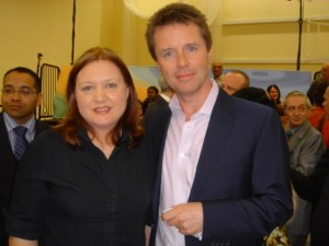 My first TV appearence with Nicky Campbell of BBC1's The Big Questions...