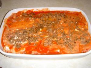 Yum...yum...a multi-talented lasagne