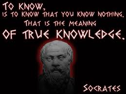 Socrates Know Nothing