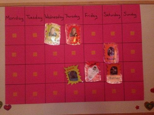 Visual Schedule Feature