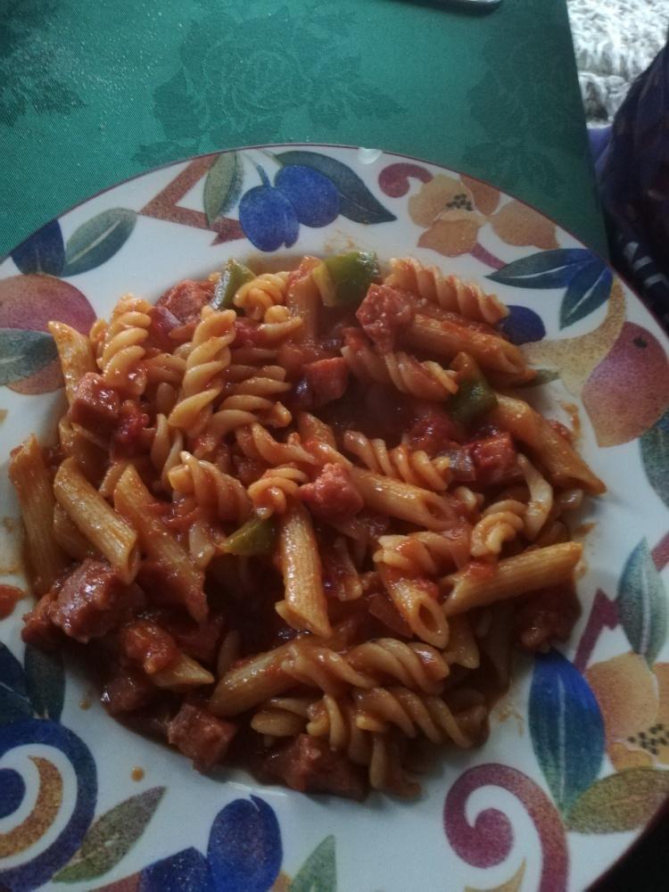 Prepper polish pasta